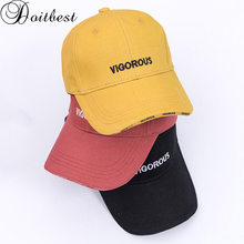 Doitbest 2 to 8 Years Spring Children Baseball Cap Boy Girls vigorous letters summer Snapback adjustable Kid Hip Hop Hat Sun cap(China)