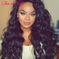 Wholesale Silk Top Lace Front wig 8A grade 150 density Glueless Full Lace Brazilian Wavy wigs human hair with baby hair