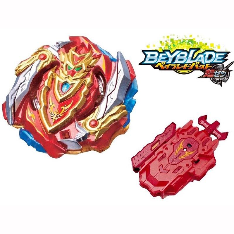 Original Produkt Neue Beyblade Burst Excalibur bey klinge Beyblade3 B-129 B-131 B118 Mit Launcher Und Box Geschenke Für Kinder