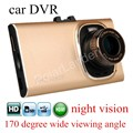 free shipping 3 inch 170 degree wide viewing angle full HD Car camera GT900 Night vision DVR Recorder G-sensor digital video