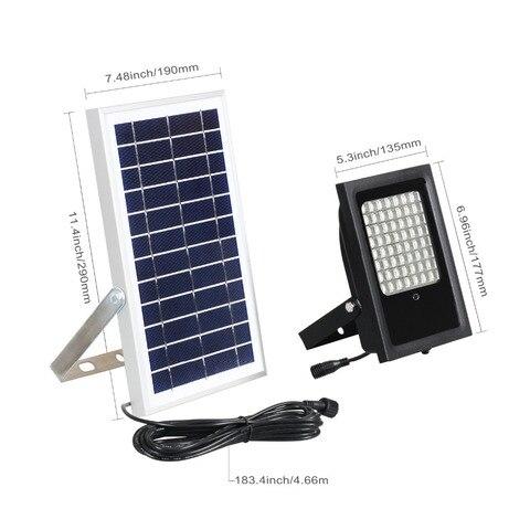 painel solar 50 w rgb mudanca