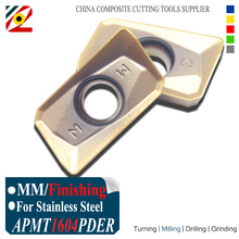 EDGEV APMT1604 PDER MM EP6350 Milling Carbide Inserts Indexable End Mill Cutter CNC Machine use for BAP400R Tool Holder