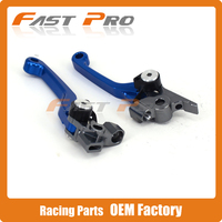 CNC Billet Foldable Pivot Clutch Brake Lever For Husqvarna TE250 TE300 FC250 FC450 FE250 FE450 FE501