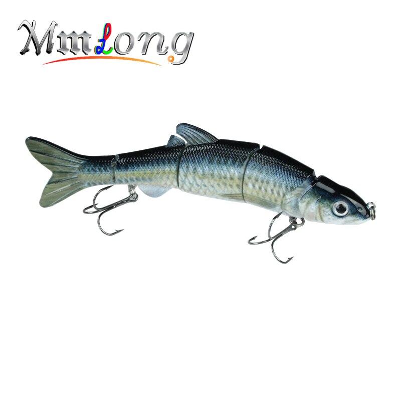 Mmlong 6.5/39g New Pike Fishing Lure Lifelike Crankbait Multi Jointed Swimbait Realistice Hard Fish Bait Tackle Pesca MML12B
