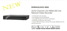 DAHUA 16/32 Channel 1.5U 4K&H.265 Lite Network Video Recorder Without Logo NVR4416-4KS2/NVR4432-4KS2