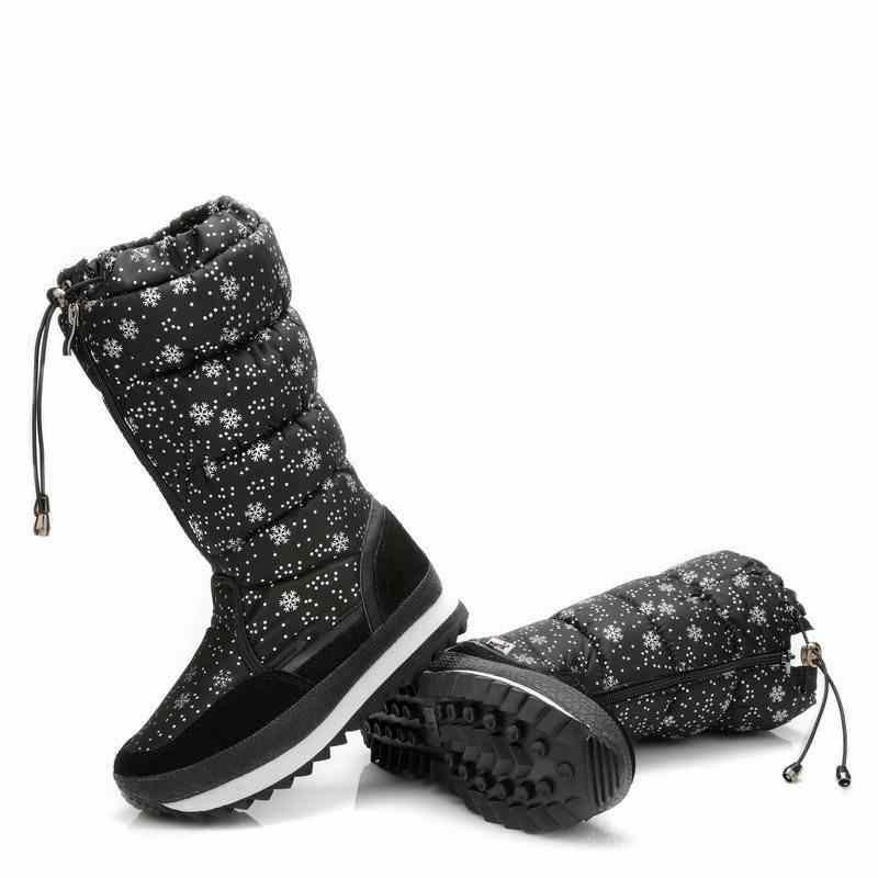 MORAZORA Yeni varış 2019 sıcak Kar botları bayanlar süet deri orta buzağı çizmeler su geçirmez peluş kadın ayakkabısı kadın kışlık botlar