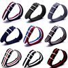 Wholesale16mm 18mm 20mm 22mm 24mm Popular Nylon Colorful Navy Nato Military Watch Strap Wristwatch Band Buckle