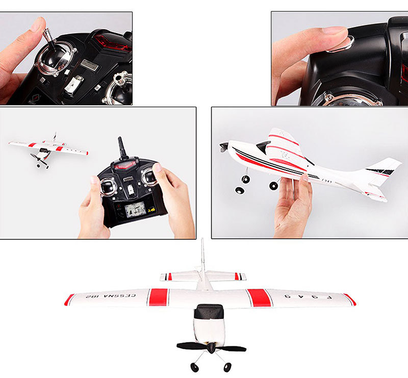 F949-3CH-RC Airplane-Aircraft Quadcopter-RC Toys-display-e