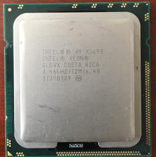 Intel Xeon X5690 Processor  LGA1366 Six Core 130W Server  Desktop CPU 100% Working Properly X5690 Server Processor