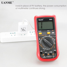 UANME Multimeter 9V Power Cord Supply Substitute Multi-meter Capacitance Line Maintenance Tool Test Wire