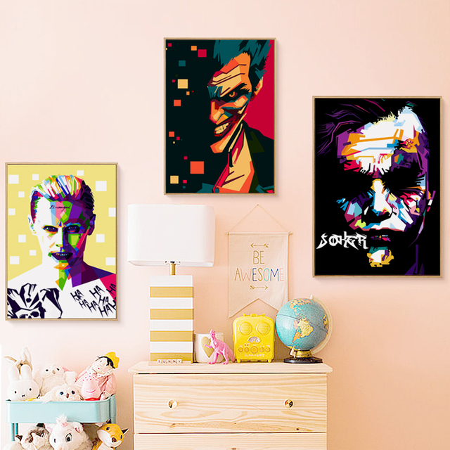 Joker fashionable Batman Movie  Canvas Art Print