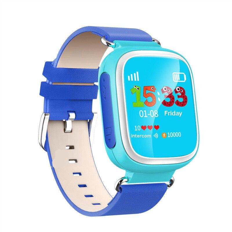 ФОТО 2016 Kid GPS Q80 Smart Watch Wristwatch SOS Call Location  Device Tracker for Kid Safe Anti Lost Monitor Baby Gift PK Q50 Q60