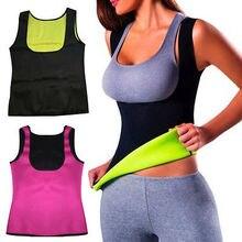 Прямая поставка, S-5XL, Женский неопреновый жилет для похудения, Приталенный жилет размера плюс, черный, розовый, синий, фиолетовый