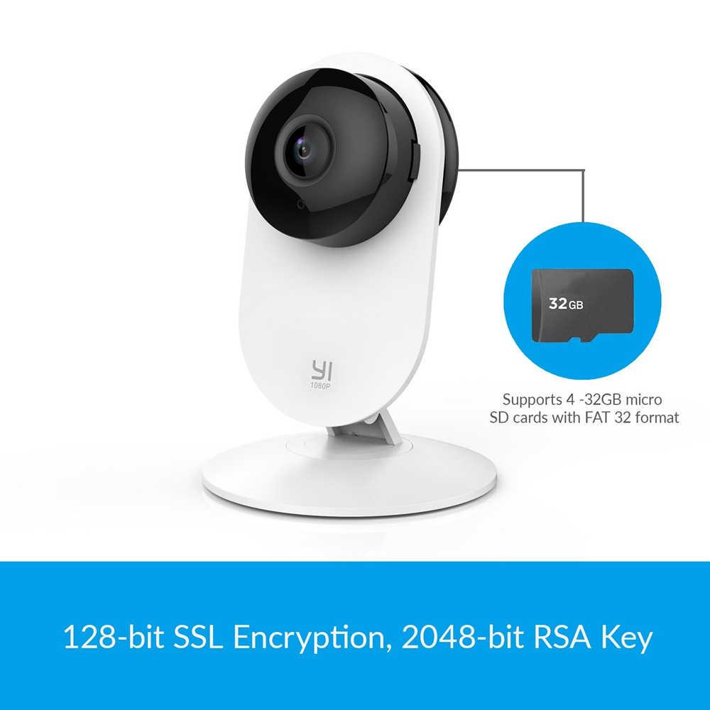 يي 1080p كاميرا منزلية كشف بكاء الطفل أحدث تصميم للرؤية الليلية واي فاي اللاسلكية IP نظام مراقبة الأمن العالمي