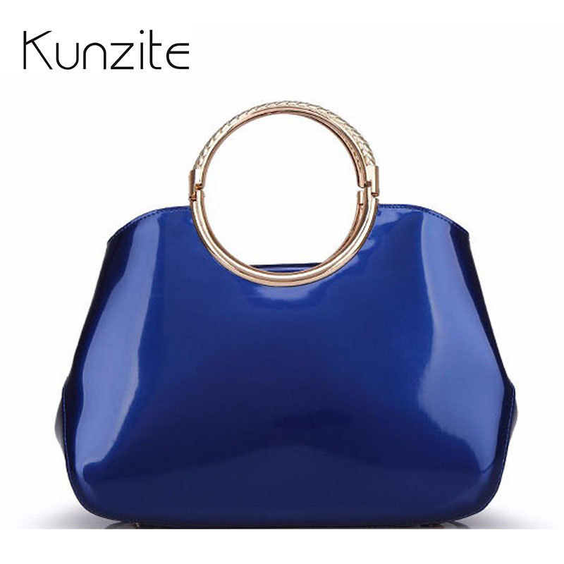 2017 Women Patent Leather Luxury Designer Handbags High Quality Shoulder Bags Sac A Main Femme De Marque Brand Hand Bags Totes new 2017 fashion women pu leather shoulder bags ladies patent crossbody bag brand luxury handbags women bags designer sac a main