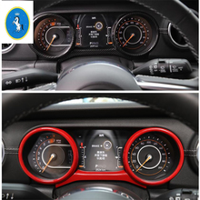 Yimaautotrims Auto Accessory Dashboard Instrument Panel Screen Ring Cover Trim Fit For Jeep Wrangler JL 2018 2019 / Colorful Kit