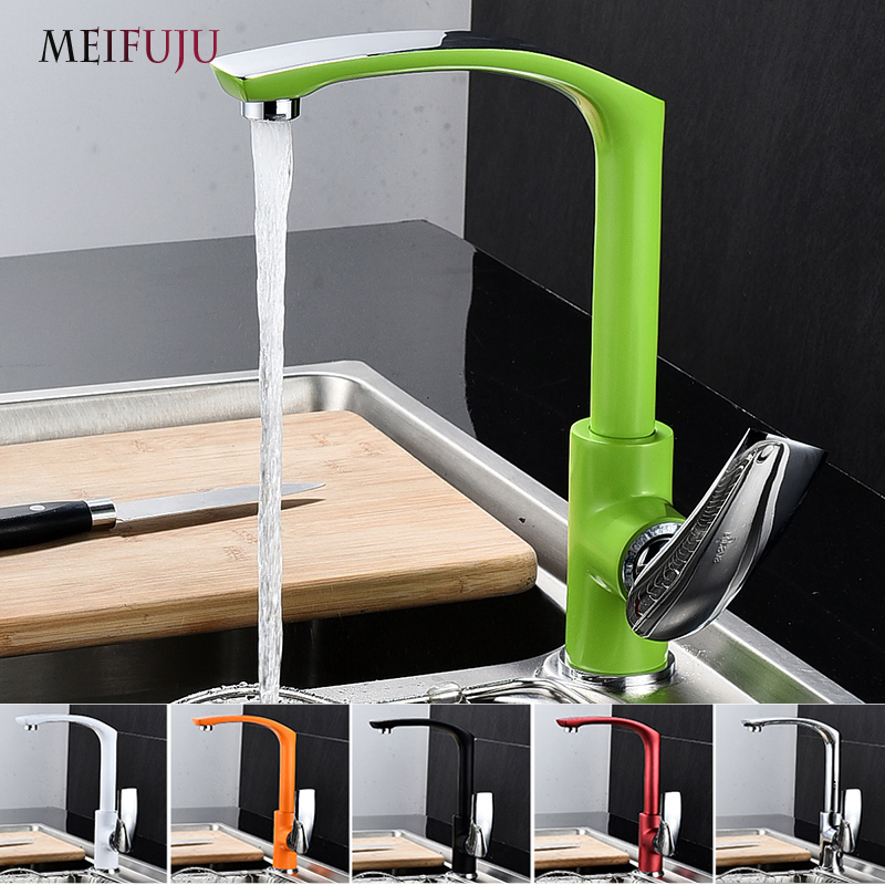 Colorful Kitchen Faucet Brass Chrome Deck Single Handle Kitchen Sink Faucets Black Basin Faucet Hot And Cold Rotating mixer pastoralism and agriculture pennar basin india