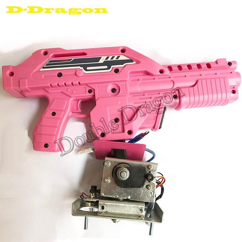 Blue Pink Black Shooting game Gun for Paradise ALIENS EXTERMINATION SHOTTING MACHINE