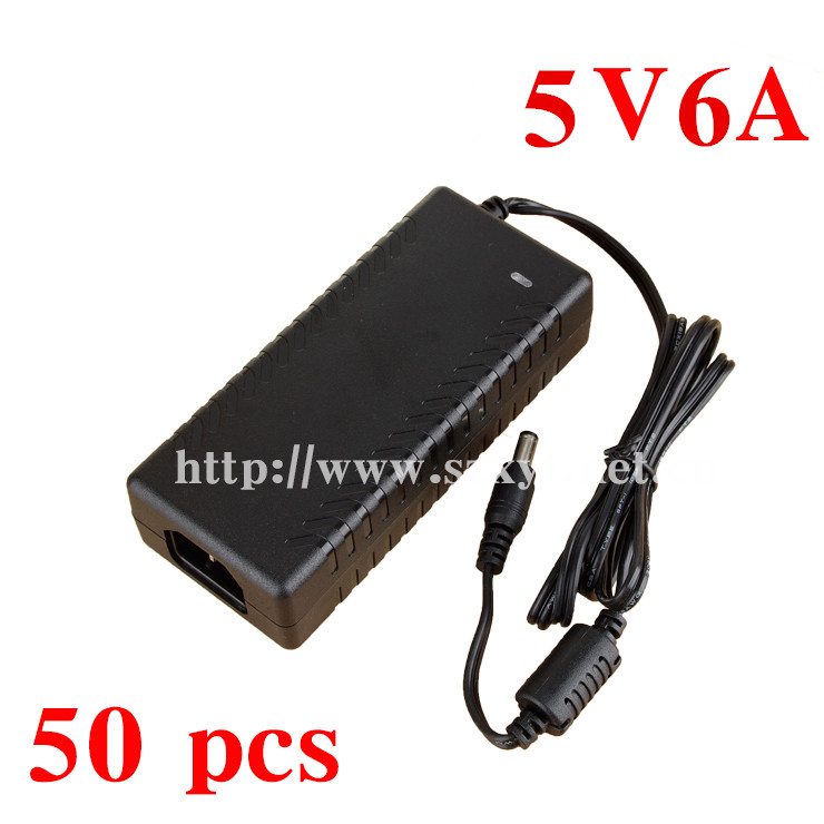 Wholesale 5V switching power supply 5V 6A 30W power supply module 220V to 5V DC power supply  EU/US/UK Plug