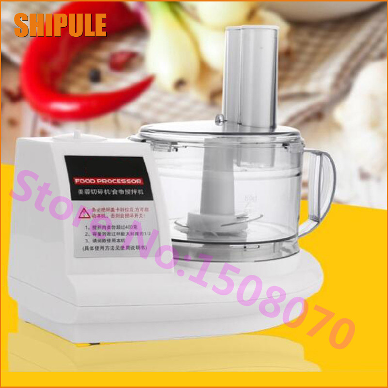Hot SHIPULE 2017 Multi functional cooking machine electric meat grinder mincer commercial garlic ginger stir stuffing machine new commercial meat grinder hc 800 household electric machine cut chilli ground food dumpling stuffing broken 220v 800w hot sale