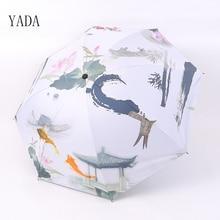 YADA Creativity Cute Fish Designer Black Coating Rain Women uv High Quality Umbrella Car For Womens Windproof Umbrellas YS041