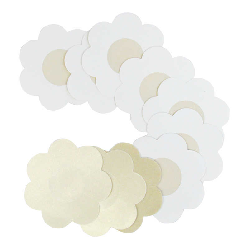 d49989551f8e7 50pcs Soft Nipple Covers Disposable Breast Petals Flower Sexy Tape Stick On Bra  Pad Pastie For