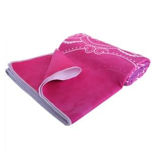 Image 5 - Zipsoft Large Size Microfiber Beach towel Mandala Violet Quick Drying Yoga Mat Sports Swimming Bath Blanket Christmas gift 2019