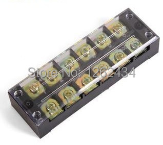 terminal blocks tb 4506 45a 6p patch panel wiring row. Black Bedroom Furniture Sets. Home Design Ideas