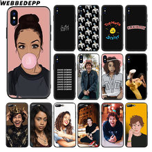 WEBBEDEPP Liza Koshy David Dobrik Мягкий силиконовый чехол для Apple iPhone 11 Pro Xr Xs Max X или 10 8 7 6 6S Plus 5 5S SE TPU(China)