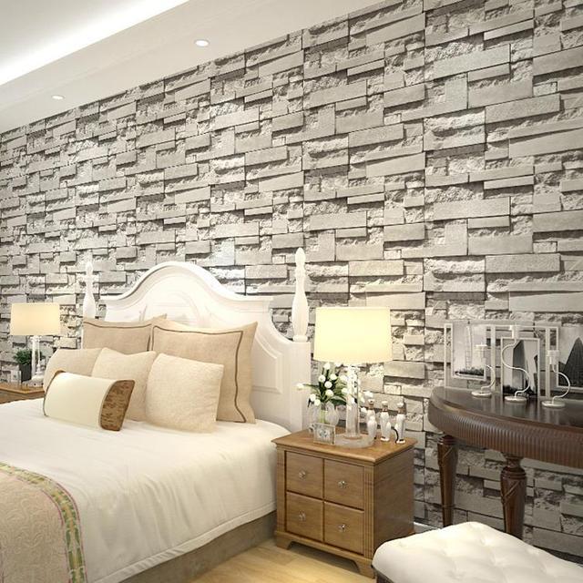 envo gratis pvc papel pintado piedra para paredes stereo tv papel tapiz de fondo saln pared with piedras para paredes