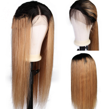 Eversilky Glueless Full Lace Wigs For Women Peruvian Remy Hair Ombre Blonde Human Hair Wigs Pre Plucked Silky Straight Wig