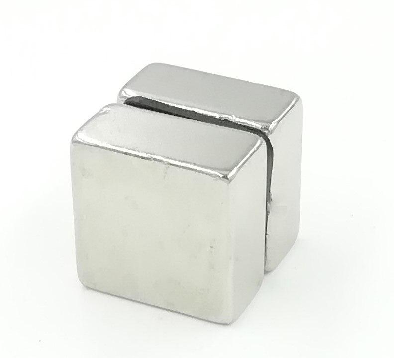 20pcs 20x20x10 Cuboid Block 20x20x10mm Super Strong N52 high quality Rare Earth magnets Neodymium Magnet 20