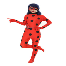 Ladybird Bodysuit  Performance  Clothing  Cosplay Seven-star  Ladybird  Lady Reddy  Ladybug  Anime Tights  Halloween Lovely все цены