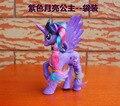 14 CM Princesa Celestia Princesa Luna Twilight Sparkle Mascotas de Dibujos Animados Modelo de Caballo Unicornio Pony Juguetes Figuras de Acción
