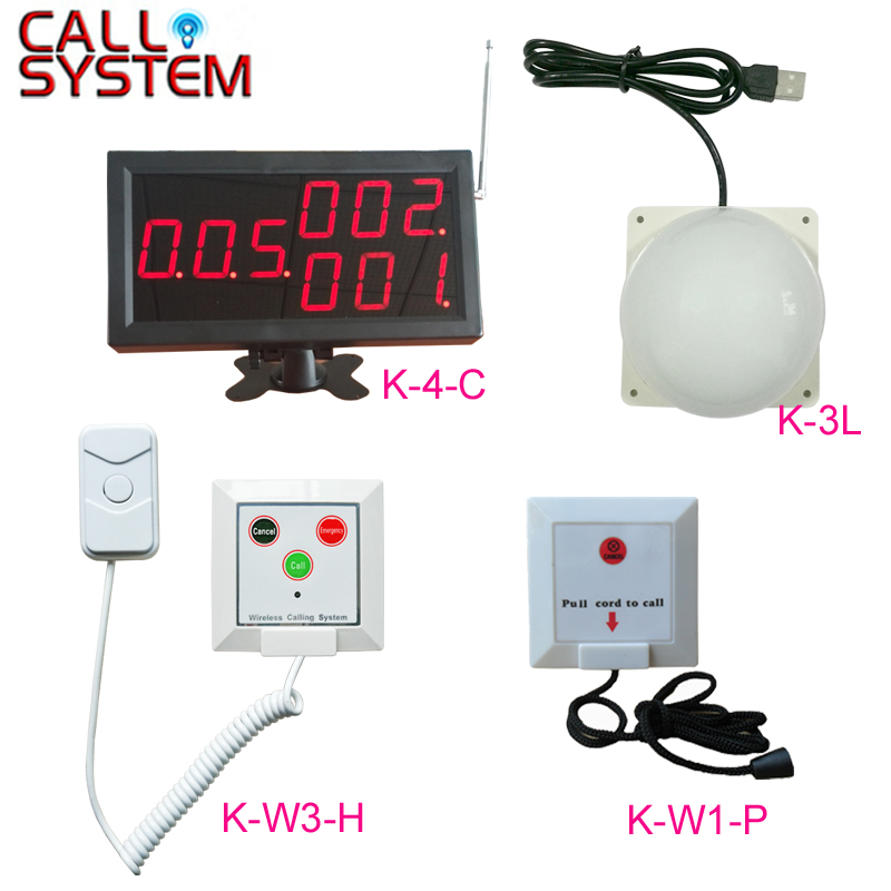 Wireless nurse call light system Emergency call system for Clinic elderly home