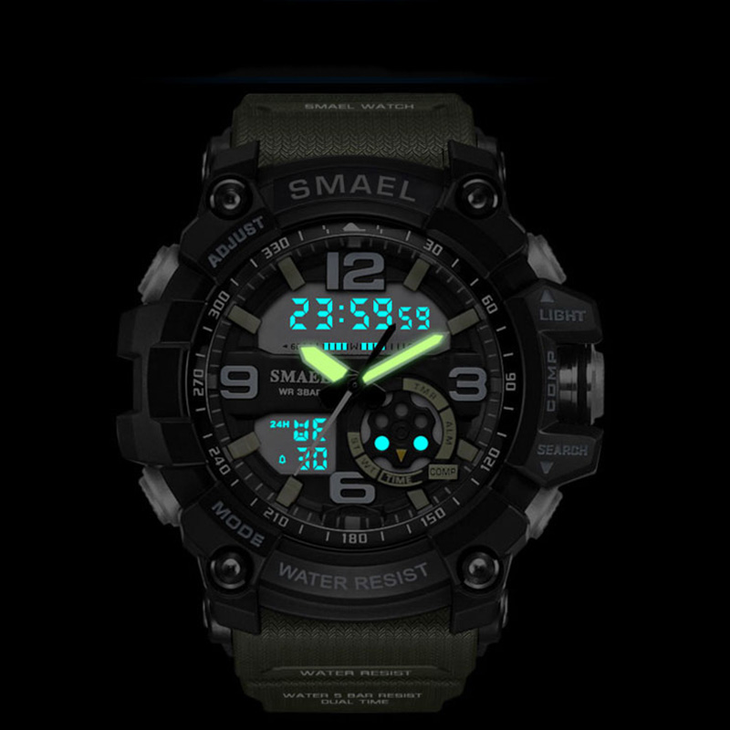 Men 39 s Military Sport Watch Men Top Brand Luxury Famous Electronic LED Digital Wrist Watch Male Clock For Man Relogio Masculino in Sports Watches from Watches