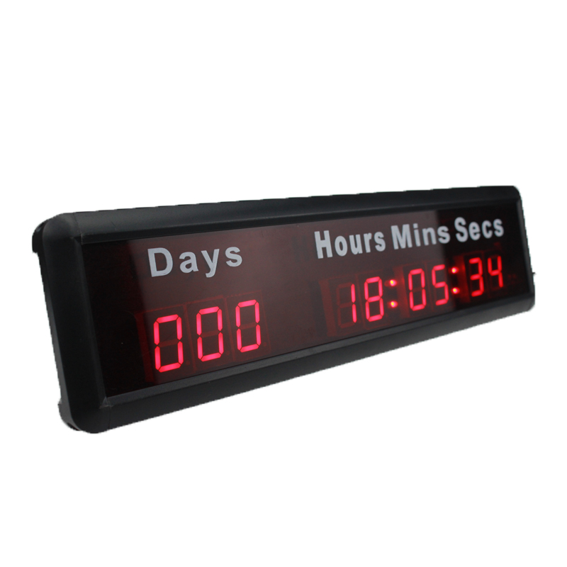 Free Shipping 1Inch 9 Digits Led Days Hours Munites Seconds countdown timer HonghaoFree Shipping 1Inch 9 Digits Led Days Hours Munites Seconds countdown timer Honghao