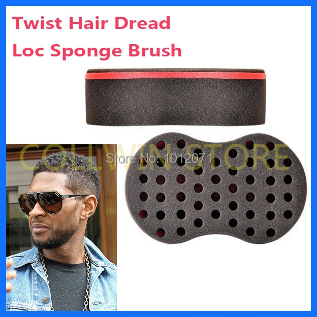 Magic Hair Twist Sponge Locks Curl Brush Starts Dreads Texture Afro Styling Tools Coil Curler Natural Wigs Braid 100pcs Lot In Braiders From Beauty