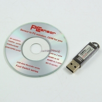 Free Shipping New USB Thermometer Temperature Sensor Tester Data Recorder For PC Laptop