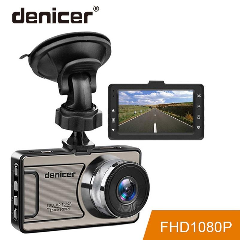 3 Painel do carro Veículo Câmera Cam Full HD 1080 p DVR 170 graus grande Angular no Carro Gravador De Vídeo dashboard Câmera Com Visão Noturna