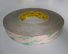 100% Оригинал 3 М 468MP Высоких температур двухсторонняя наклейка ясный цвет двусторонняя лента 468MP18mm * 55 м 5 рулон много хорошее качество