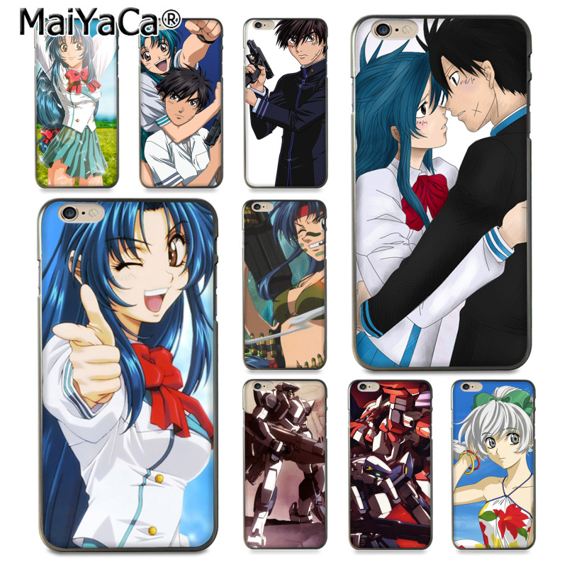 MaiYaCa Anime Full Metal Panic Unique Design High Quality phone case for iPhone 8 7 6 6S Plus X 10 5 5S SE 5C Coque Shell