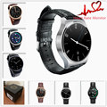 Fashion GW01 Smart Watch Bluetooth 4.0 SmartWatch Heart Rate Monitor For Android 4.3 iOS 7 IPS Round Screen Life Water Resistant