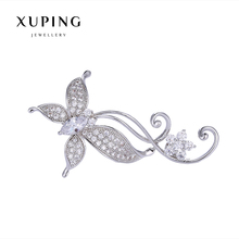 Xuping Elegant Synthetic CZ Diverse Styles Pearl Brooch for Mother's day Gift 2017 New 00086-1#
