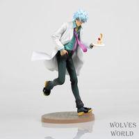 1 Pcs Japanese Anime Gintama MegaHouse Sakata Gintoki Action Figure PVC 22CM Colletion Model Toy Hobbies