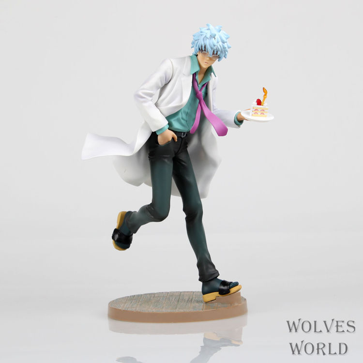 1 Pcs Japanese Anime Gintama MegaHouse Sakata Gintoki Action Figure PVC 22CM Colletion Model Toy Hobbies Kids Child High Quality japanese anime one piece original megahouse mh variable action heroes complete action figure dracule mihawk