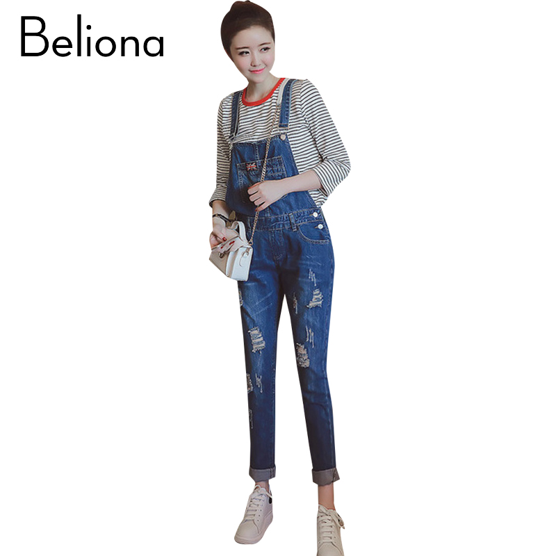 Holes Denim Maternity Jumpsuits Autumn Jeans Pants Trousers Spring Maternity Clothes for Pregnant Women Pregnancy Clothing wide leg pants for women plus size casual denim jeans full length high waist spring autumn new fashion trousers female ayl0701