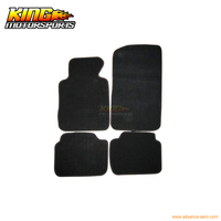 Fits 99 05 BMW E46 3 Series Floor Mats Carpet Front & Rear Nylon Black 4PC USA Domestic Free Shipping
