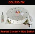 250KG 7M Wall Switch+Remote Control Electric Hoist for Chandelier Hotel Project Lighting Lifter 110V-120V,220V-240V