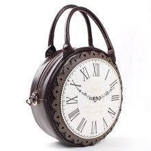 Personnalité de nouveau fonds de 2017 printemps est de la mode féminine sac à main Je doux collège loisirs femelle sac sa belle horloge